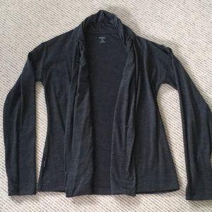ICEBREAKER open cardigan size XS grey like new